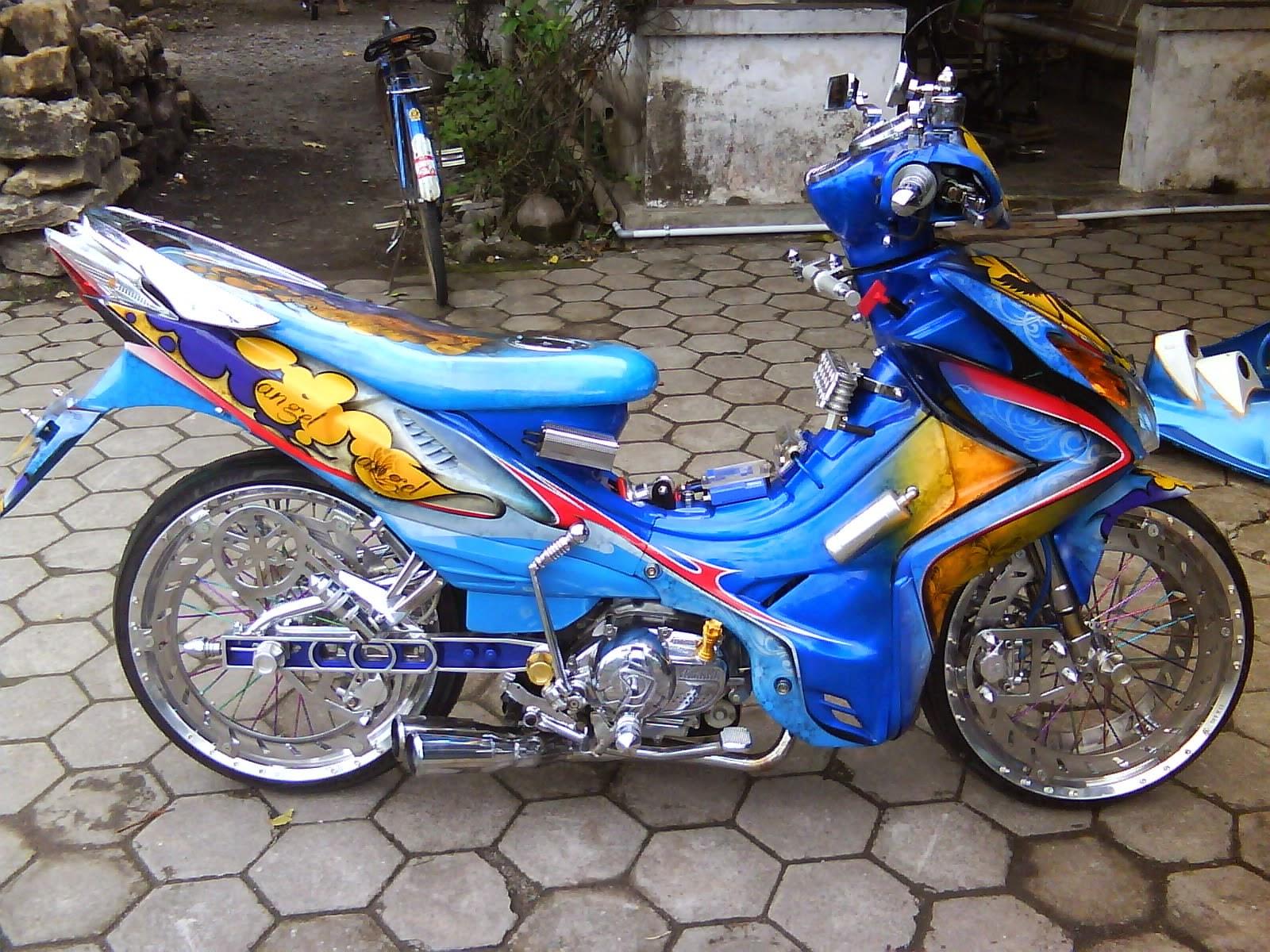 modifikasi motor jupiter z 2004