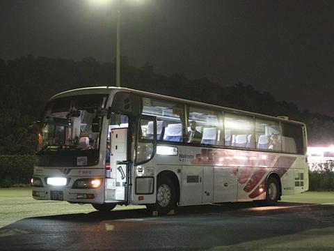 西鉄高速バス「フェニックス号」 9910 北熊本SAにて