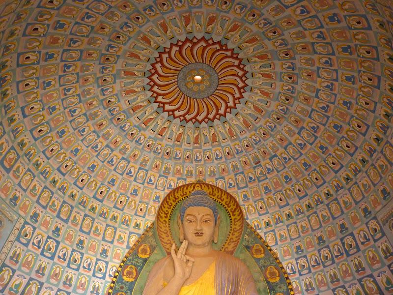 XINJIANG.  Turpan. Ancient city of Jiaohe, Flaming Mountains, Karez, Bezelik Thousand Budda caves - P1270939.JPG