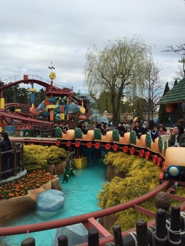 Go go Gadget Coaster at Tokyo Disneyland
