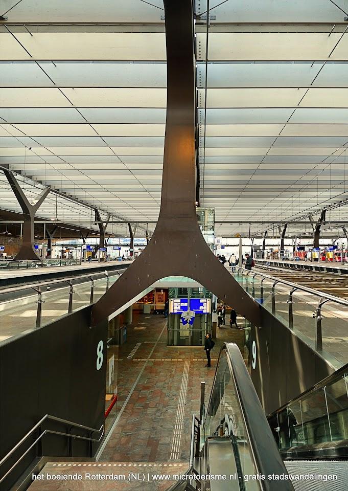 Aangeboden door: Stichting Microtoerisme InZicht Fotoblog Rotterdam centraal station CS