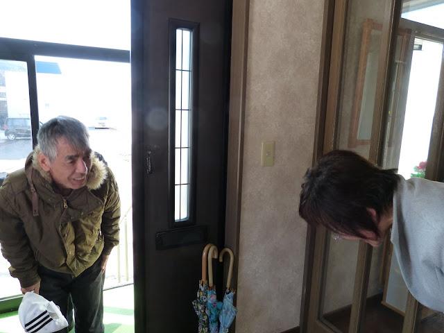 久しぶりに飯田さん宅訪問