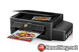 Reset Epson ET-2550 ink pads are at the end of their service life