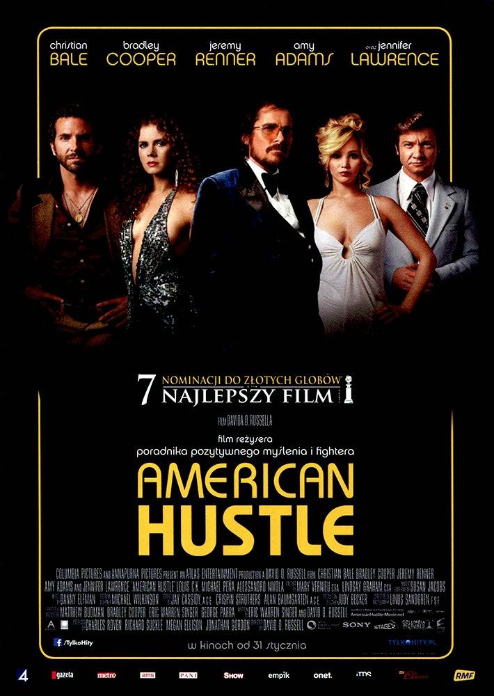 Ulotka filmu 'American Hustle (przód)'