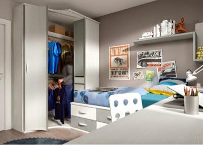 Publicado por xikara muebles en 17 17 for Dormitorios funcionales