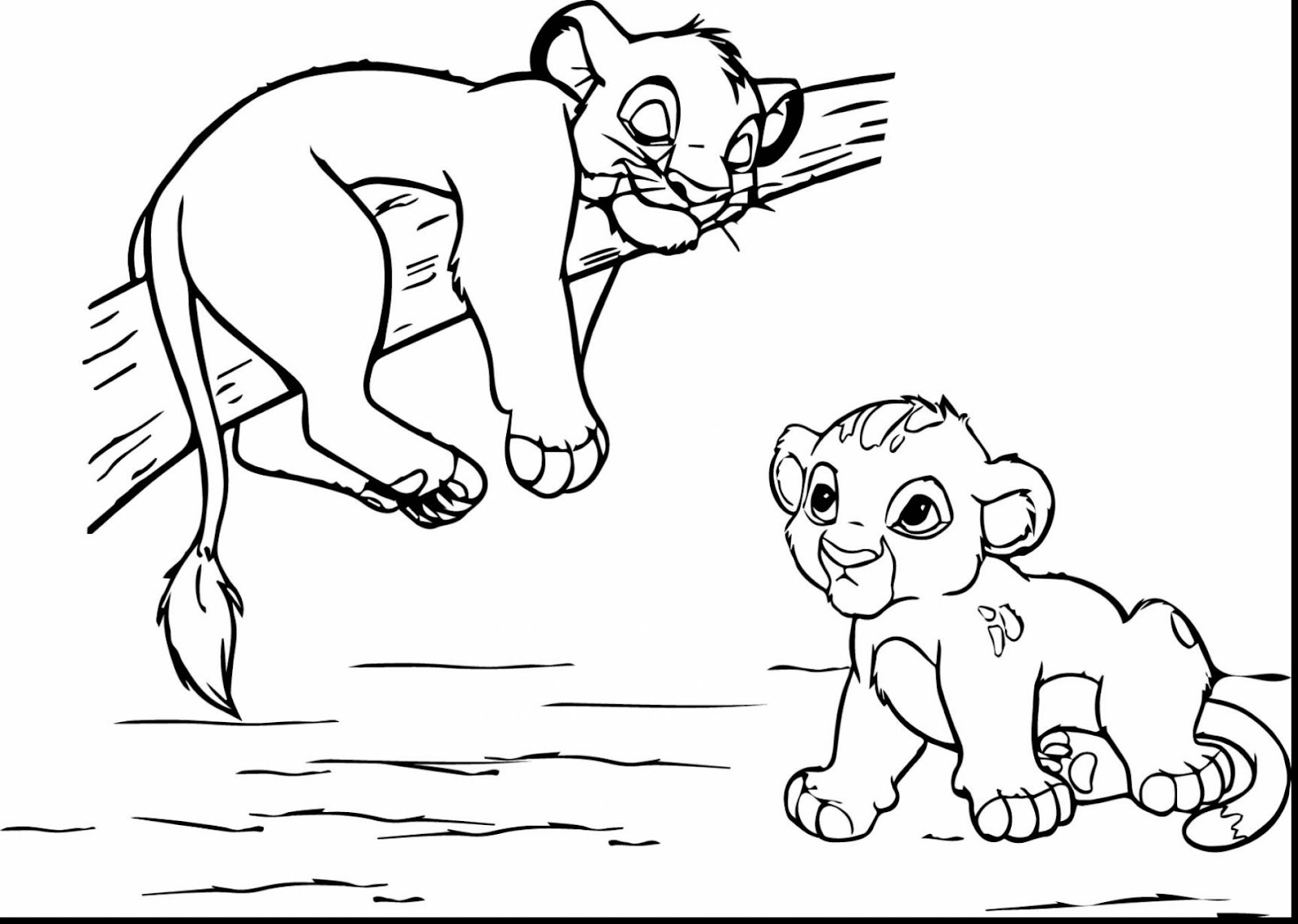 Free coloring pages lion king - Best Free Lion King Scar Coloring Pages Design Coloring Pages