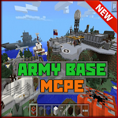 Army Base Minecraft Map MCPE