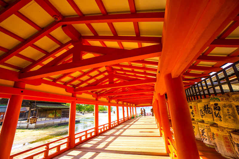 Miyajima Itsukushima Shrine West Corridor