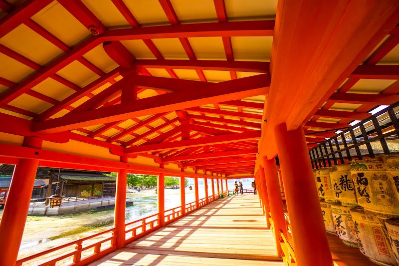 宮島 厳島神社 西回廊