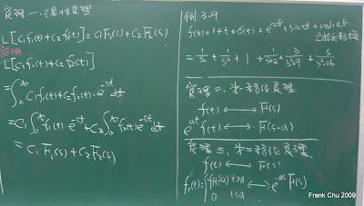 線性定理的證明及應用: 3-9