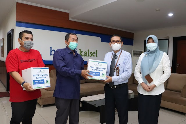 Bank Kalsel Serentak Berikan Paket Ramadan di Seluruh Kabupaten/Kota se-Kalsel