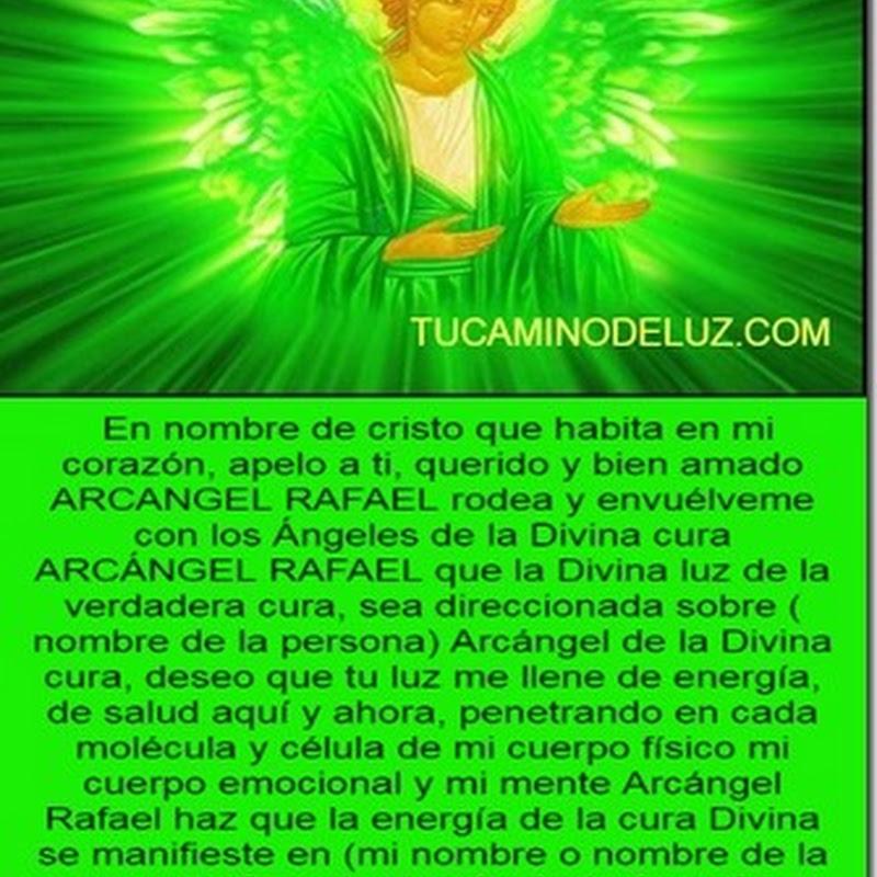 Oración al Arcángel Rafael salud