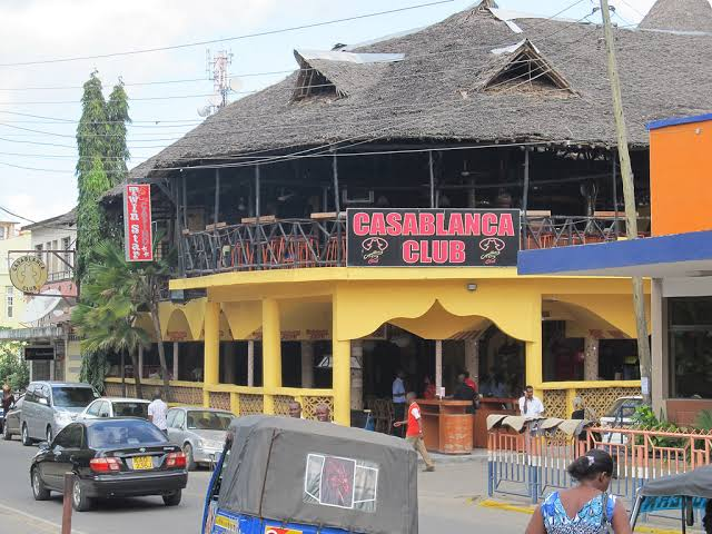 Mombasa famous Casablanca Club where most politicians source happiness. PHOTO | FILE