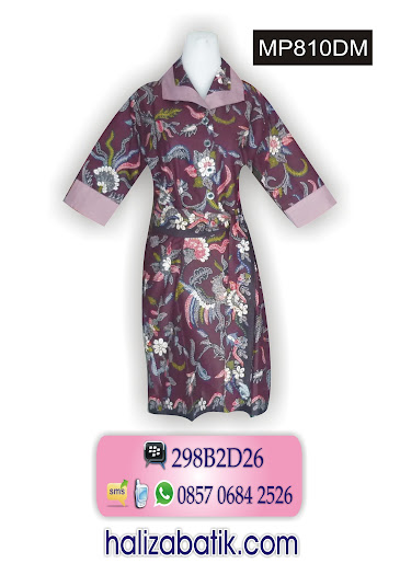 MP810DM Baju Seragam, Model Dress, Model Batik, MP810DM