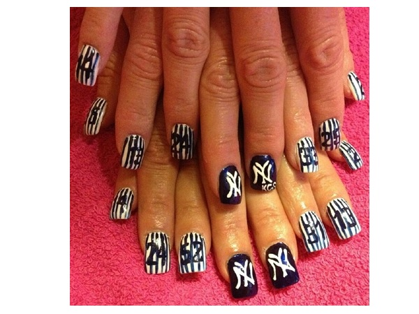 Top 10 Amazing Sporty Baseball Nail Art Designs For 2018 Fashonails