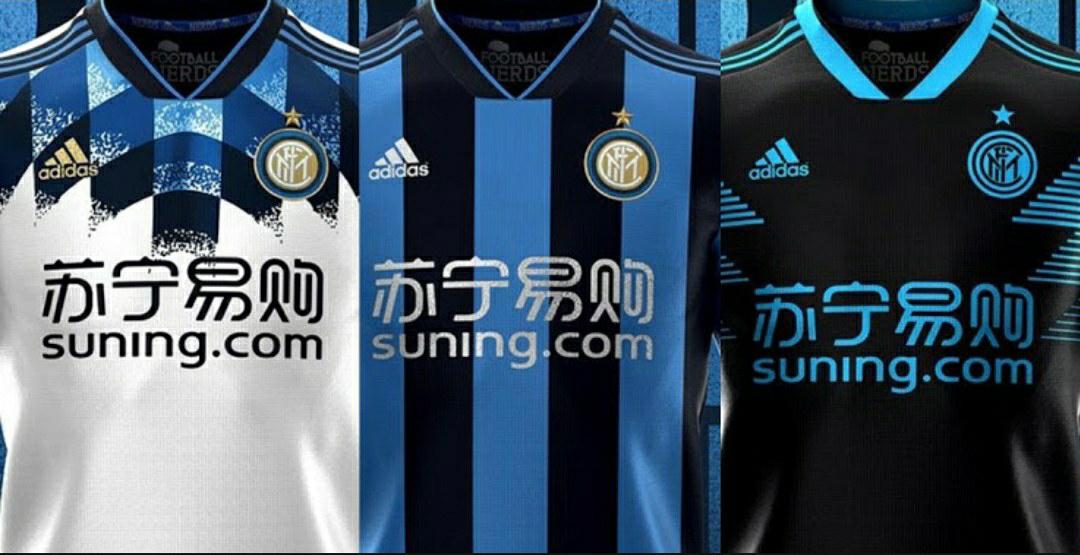 gambar foto bocoran jersey inter milan 2020-2021