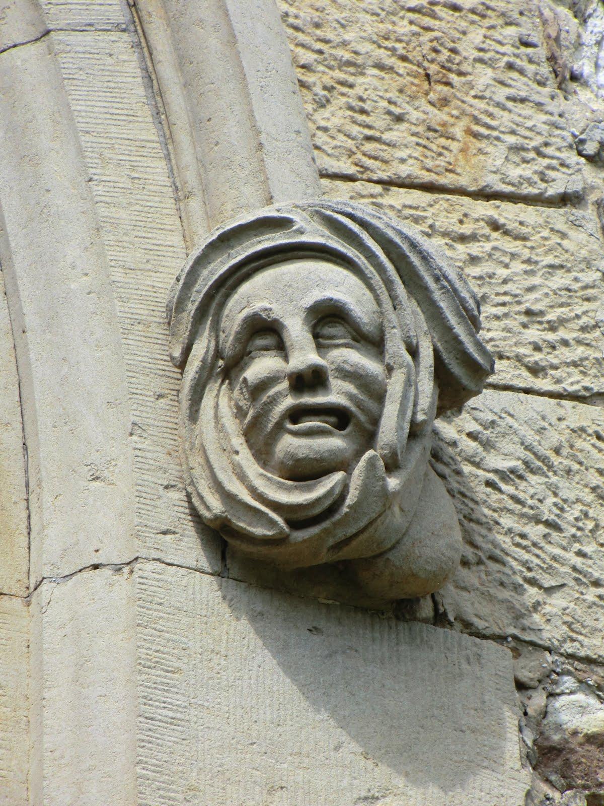 CIMG2938 Gargoyle, Westerham church