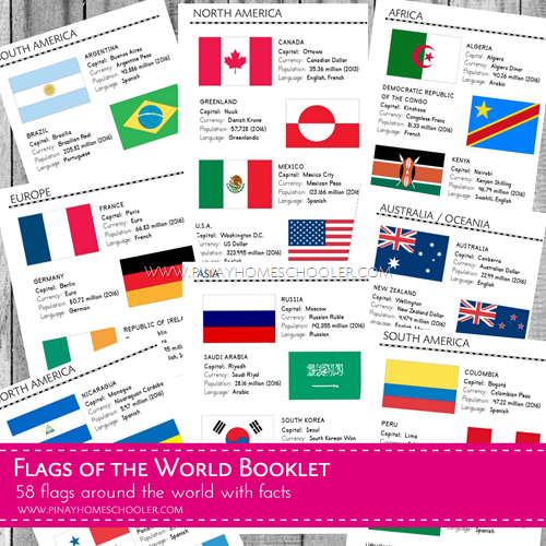 Flags of the World Booklet