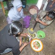 Pelatihan Olahan Makanan Sekolah Lapang Sinar Benowo Desa Wonomerto
