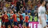Resultado Penales España Portugal [2 - 4] 27 Junio EURO2012