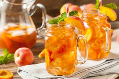 drink lar doce casa - Chá com wisky