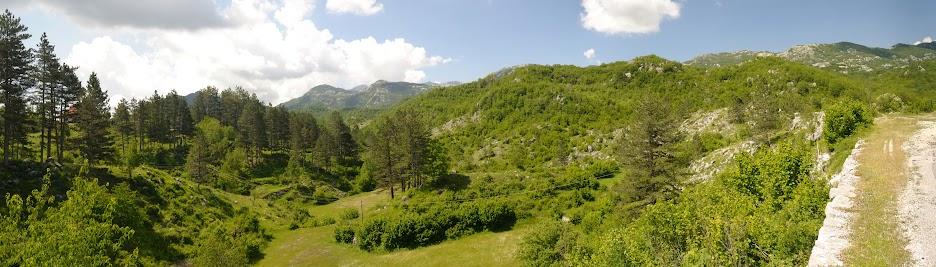 Karstlandschaft zwischen Cetinje und Cevo