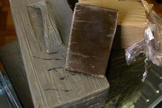Béchar: Près de 49 kg de kif traité saisis par les Gardes-frontières.