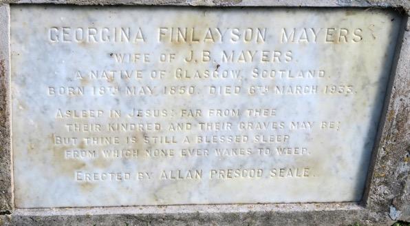 Family Grave Inscription 2