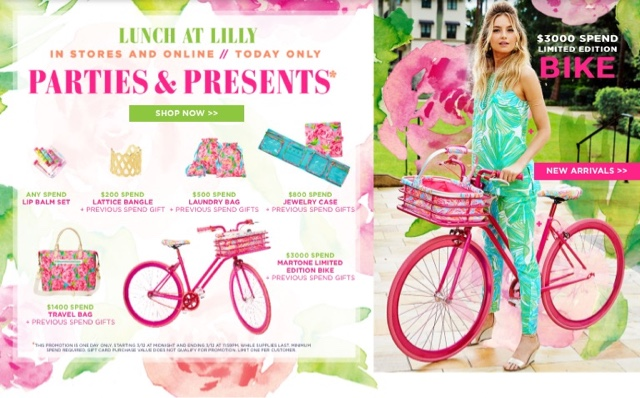 Lunch at Lilly! Gifts with EVERY Purchase!