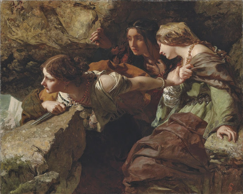 James Sant - Courage, Anxiety and Despair. Watching the Battle