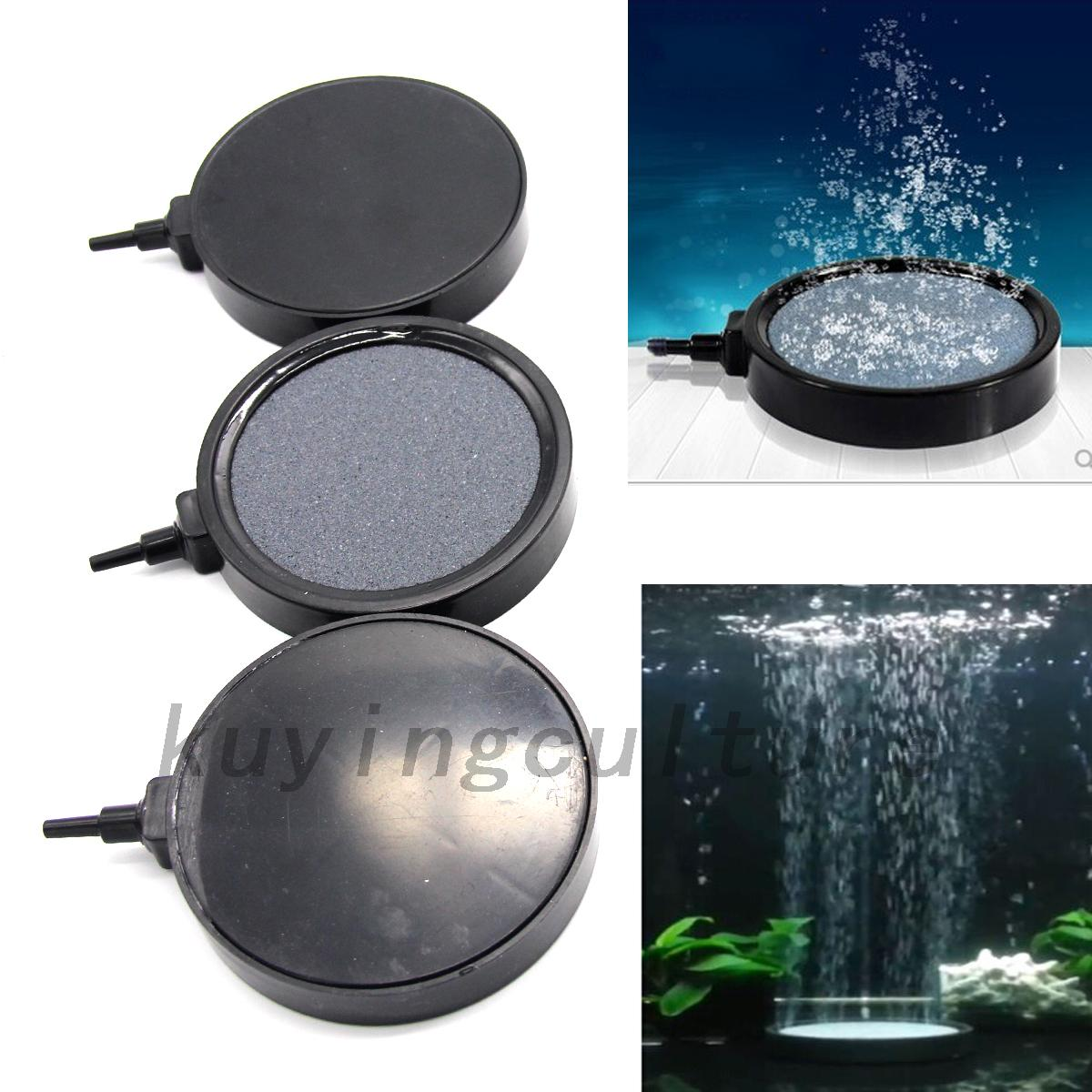 Koi Pond Air Stones : Aquarium fish tank pond air stone disk diffuser bubble