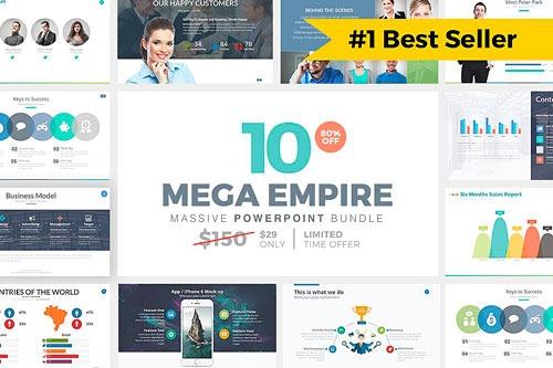 Pack masivo de plantillas PowerPoint, las más vendidas