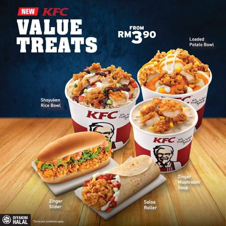 PROMOSI JIMAT TERBARU DARI KFC SERENDAH RM3.90 - Kampung ...