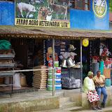 Boutique à Lita (Imbabura, Équateur), 1er décembre 2013. Photo : J.-M. Gayman