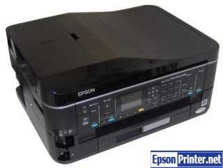 How to reset Epson BX620FWD printer