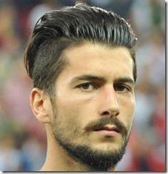 Soccer Player Haircut Panagiotis Kone