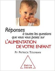 Livre alimentation bébé enfant Patrick Tounian