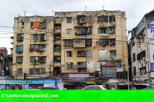 Hình 1: Tạo cơ chế để dân góp vốn cải tạo chung cư