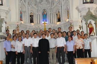 Bế giảng lớp Giáo lý chuyên sâu tại Đồng Chưa