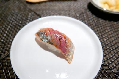 Aji from Nodoguro Hardcore Sushi Omakase 1/31/2016