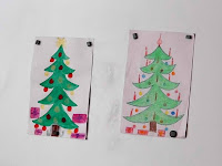 20 - Kérj, és megadatik - az ovisok éppen a csomagokat festették a karácsonyfa alá.JPG