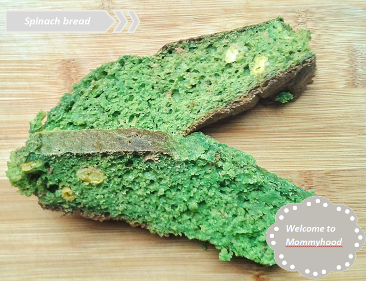 Welcome to Mommyhood Healthy toddler meals: healthy spinach bread