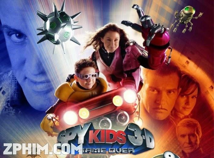 Ảnh trong phim Điệp Viên Nhí 3: Trò Chơi Sinh Tử - Spy Kids 3-D: Game Over 1
