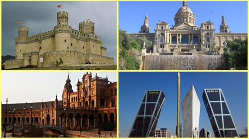 Evolución arquitectónica en España