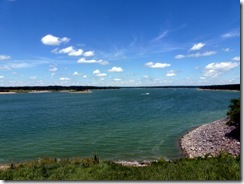 Lake Shelbyville from the Visitor Center