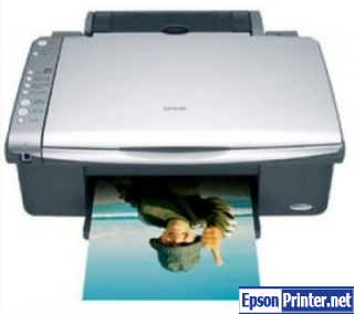 Reset Epson CX4080 printing device by software