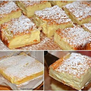 MAGIC CUSTARD CAKE.