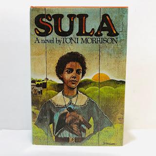 Toni Morrison Sula RARE First Edition Book