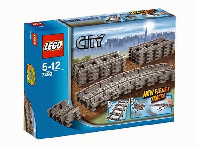 7499 レゴ RCトレイン フレキシブルレール