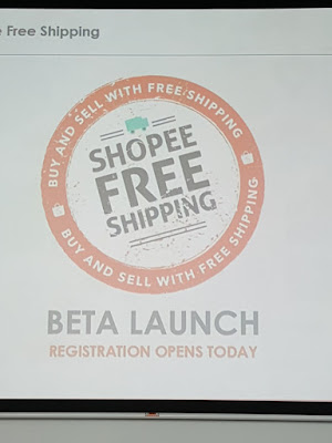 Shopee free shipping goes into beta. Registration is open.